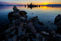 Mono Lake at Sunrise, California