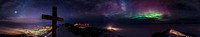 Observation Hill Night Panorama